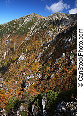 秋天, 山