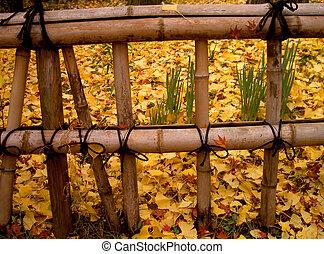 秋天, 柵欄