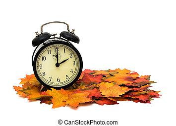 秋天, 變化, 時間