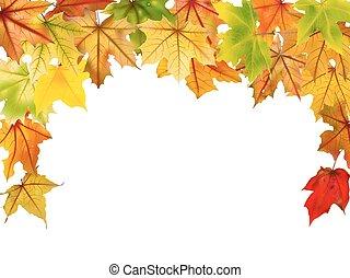 秋天, 邊框