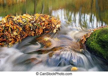 秋季离去, 以及, 瀑布