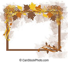 秋季离去, 框架