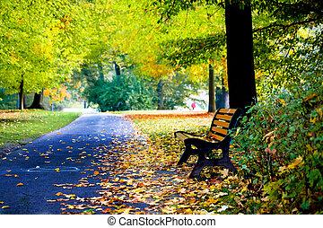 秋季, 公园