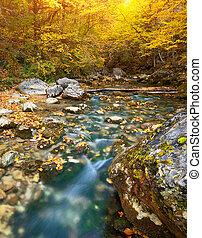 秋季, 河
