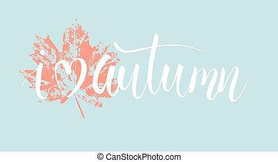 秋季, 爱