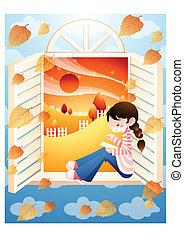 秋, そして, 祝祭