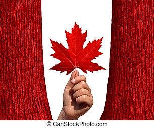 秋, カナダ