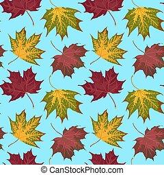 秋, パターン