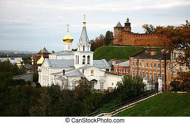 秋, 予言者, elijah, kremlin, 教会