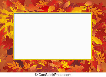 秋, 写真フレーム