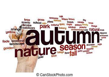 秋, 単語, 雲