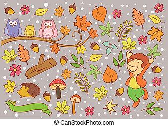 秋, 季節