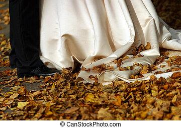 秋, 結婚式