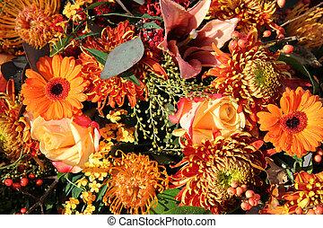 秋, 花束