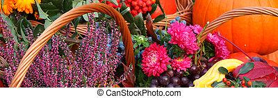 秋, 花, そして, 成果