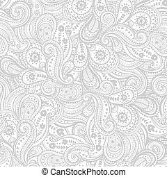 种族, 佩斯利螺旋花紋呢, 圖案