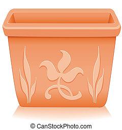 种植者, flowerpot, 植物群, 设计