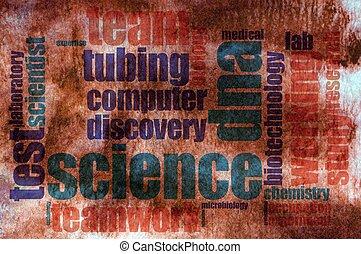 科学, 単語, 雲
