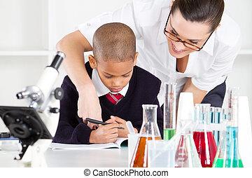 科学 教師, そして, 生徒