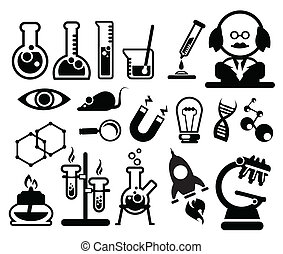 科学, 生物学, アイコン