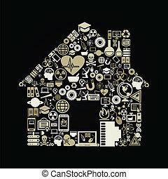 科學, 房子