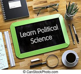 科學, 政治, 黑板, 學習, 小,  3D