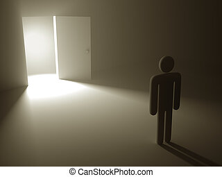 秘密, ドア, 成功
