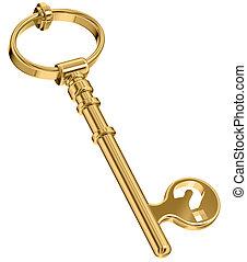 秘密, key.