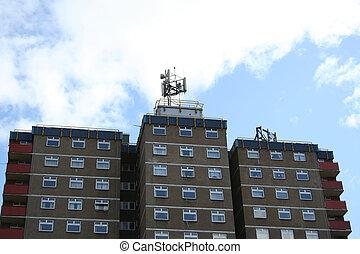 移動式 電話, タワー, マスト, ブロック