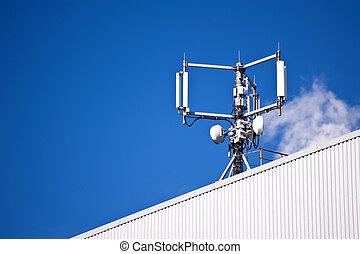 移動式 電話 マスト