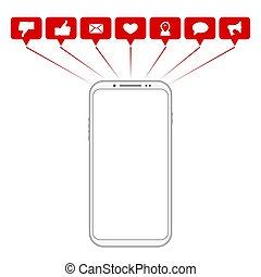 移動式 電話, 社会, シンボル, 媒体