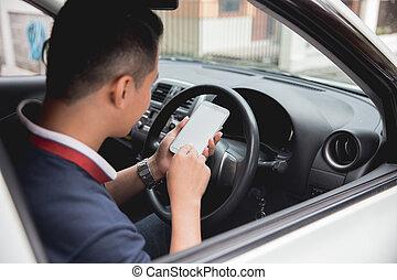 移動式 電話, 間, 運転
