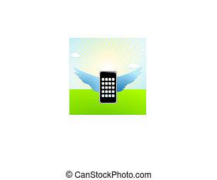 移動式 電話, 飛行, 翼