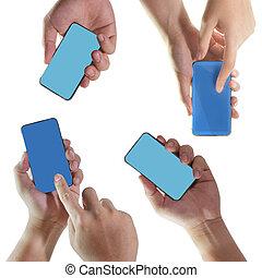 移動電話, 藏品, 聰明, 手