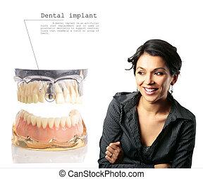 移植, 歯医者の