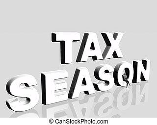 稅, season.