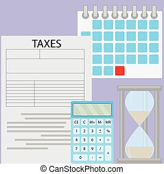 税, 期限, 日