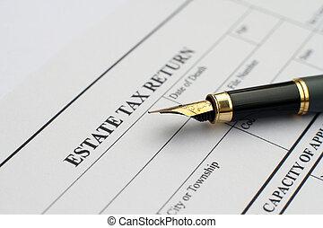 税, 財産, 形態