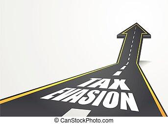 税, 道, 回避