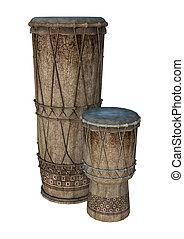 種族, ドラム