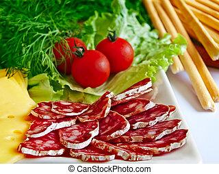 種類, 各種各樣, 開胃菜