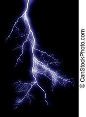 稲光の電光