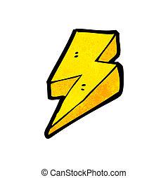 稲光の電光, 漫画