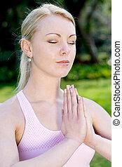 穏やかである, 瞑想