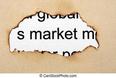 穴, ペーパー, 市場