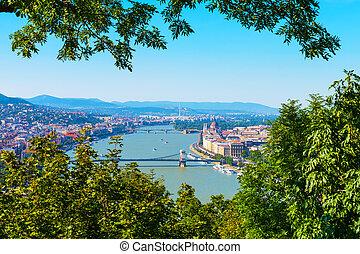 空中的觀點, ......的, 布達佩斯, 匈牙利