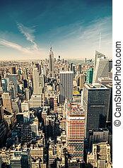 空中, 曼哈頓, 看法