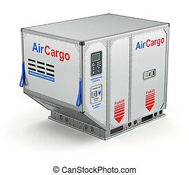 空気, パレット, 貨物 容器, 金属