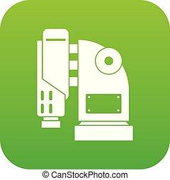 空気, 機械, 緑, デジタル, ハンマーアイコン