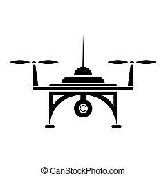 空気, 無人機, アイコン